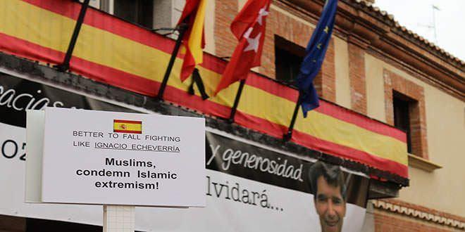 """""""Mejor caer luchando, como Ignacio Echeverría. Musulmanes, condenen el extremismo islámico."""""""