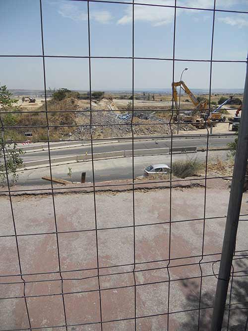 wanda pasarela ciclista demolida