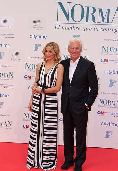 Richard Gere y su novia, Alejandra Silva