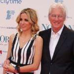 Richard Gere y su novia, en el preestreno benéfico de 'Norman'