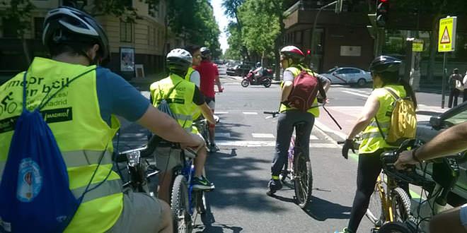 Taller medioambiental Circulando en bici por la ciudad