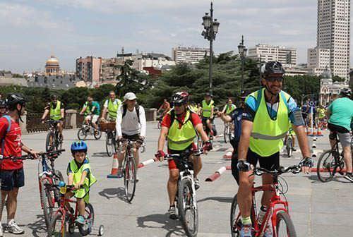 Carriles bici nuevos en Madrid