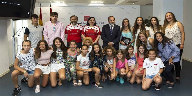 Selecciones inferiores madrileñas | Créditos Comunidad de Madrid