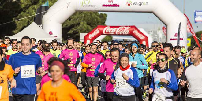 Carrera popular 10k Mercamadrid