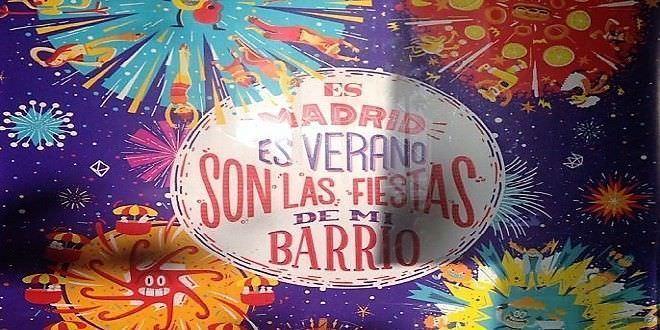 Fiestas de verano 2017 en los barrios de Madrid