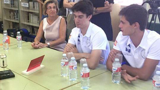 Alumnos de Las Rozas ganan concurso de la ESA