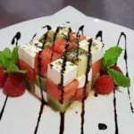 Receta de ensalada de frutas y mozzarella
