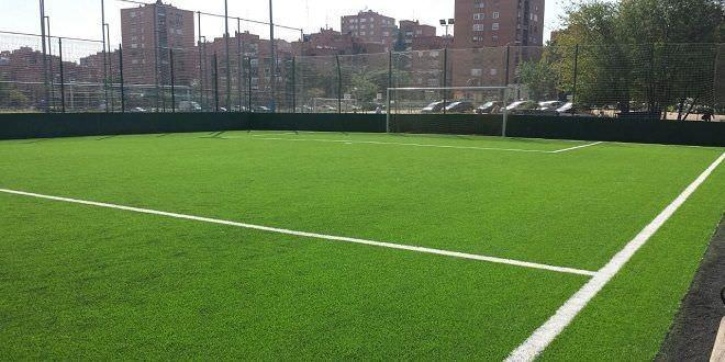 Campo de fútbol 7 | Créditos: Escuela de fútbol zona norte Madrid