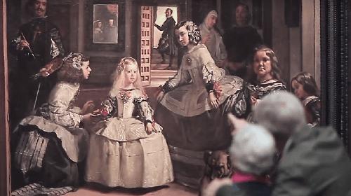 Las Meninas de Velázquez expuestas en el Museo del Prado