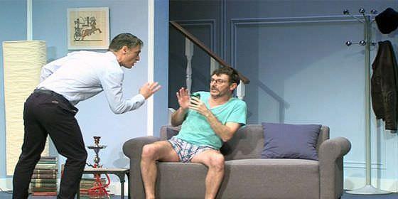 Josep Linuesa y Carlos Chamarro en 'Pares y Nines'
