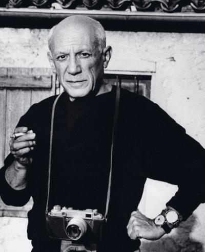 Instantánea de la exposición 'Picasso y la fotografía'
