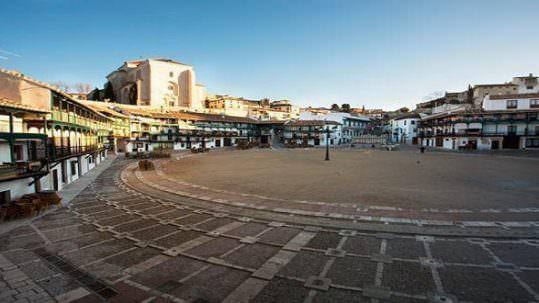 Plaza Mayor Chinchón | Créditos Web Oficial de Turismo de Chinchón