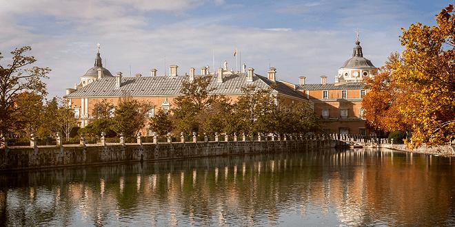 Vistas del Palacio Real de Aranjuez