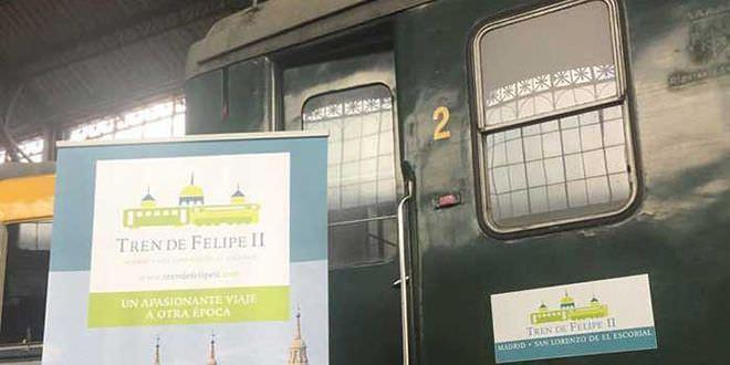 Tren Felipe II San Lorenzo de El Escorial