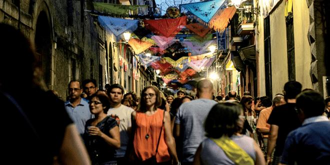 Fiestas de la Virgen de la Paloma 2017 en Madrid
