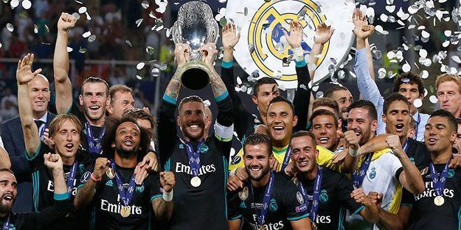 Real Madrid campeón de la Supercopa de Europa | Créditos Web Oficial del Real Madrid