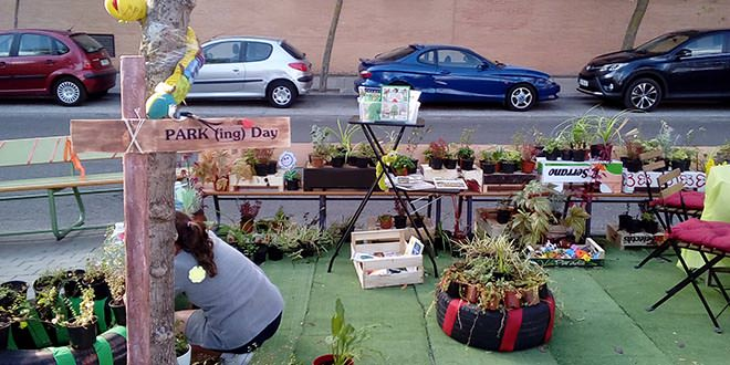 Parking day Semana de la Movilidad