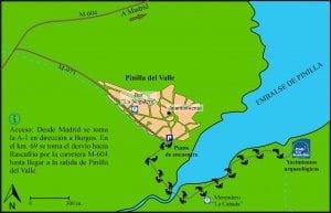 Valle neandertales Mapa