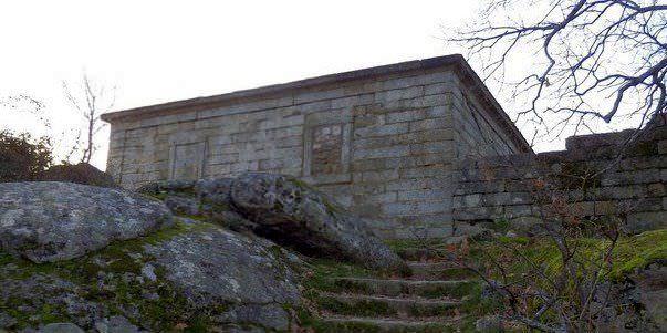 Casa del Sordo en la ruta al bosque de la Herrería