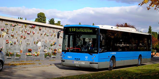 Autobuses a los cementerios