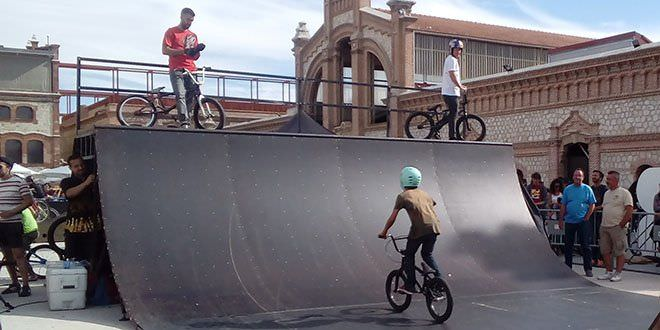 Circuito Bike Park en Barajas