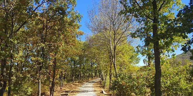 El Trampal en la ruta al embalse de Pinilla