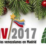Sabores y música en la II Feria navideña de los venezolanos en Madrid