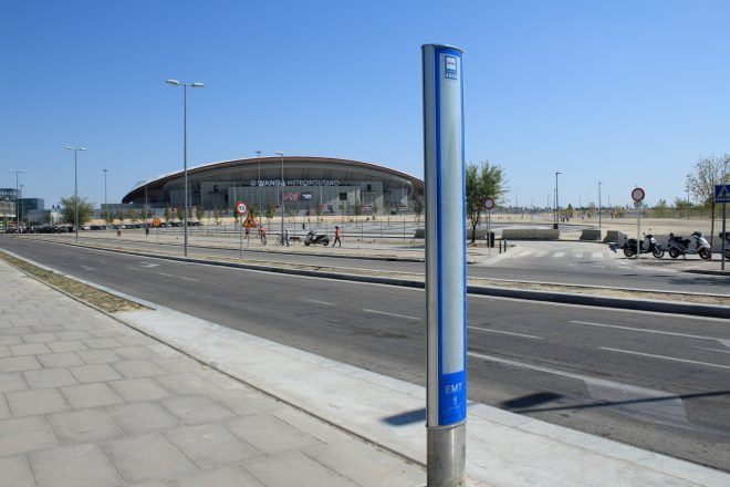 aparcamiento disuasorio wanda metropolitano