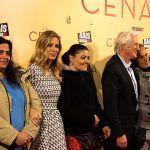 Richard Gere y Alejandra Silva, con los 'sin techo' en el estreno de 'La cena'