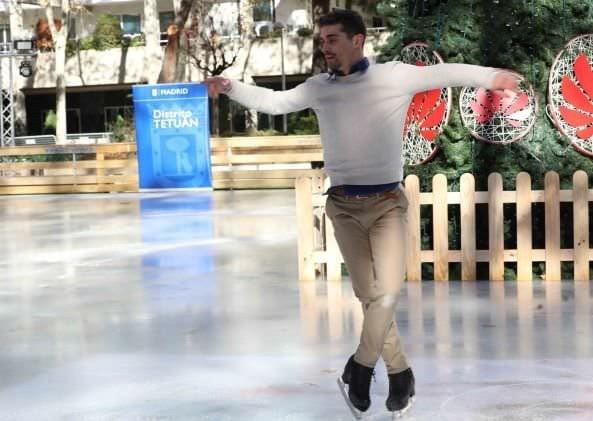 pista hielo azca Javier Fernández