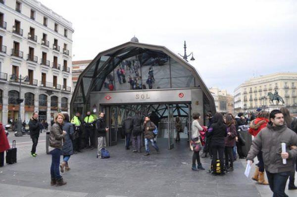 Estación de Metro y Cercanías Sol