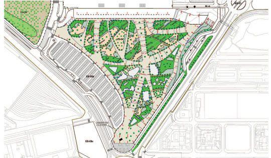 plano ajardinamiento Wanda Metropolitano