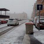 Nieva en Madrid