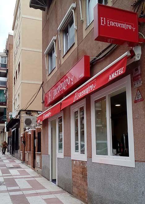 Encuentro, bar en Canillejas cerca del Wanda Metropolitano
