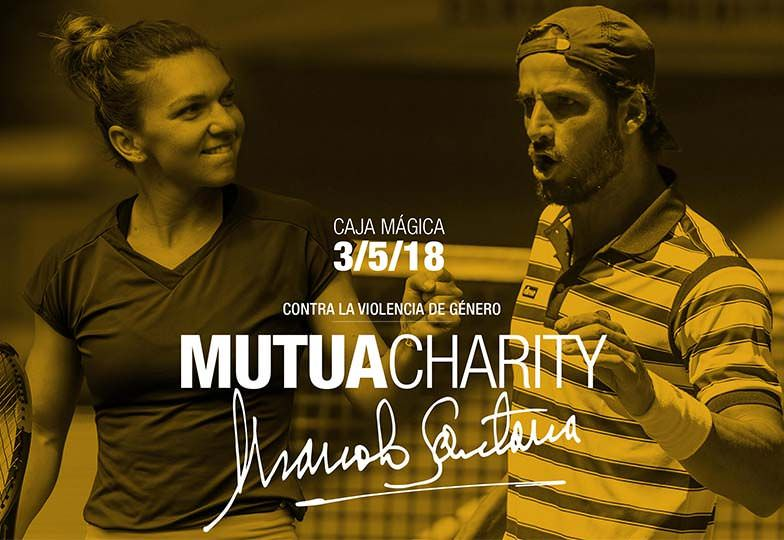 Mutua Charity Manolo Santana