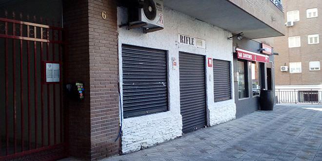 Rifle y Zapatones, bares conflictivos en el entorno del Wanda Metropolitano