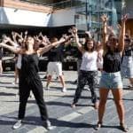 Baile de bienvenida para Madrid Nuevo Norte
