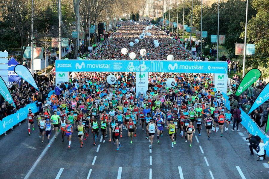 Medio Maratón de Madrid 2018