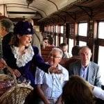 Últimos viajes del Tren de la Fresa en la temporada de primavera