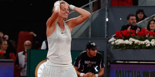 Petra Kvitova Madrid open 2018