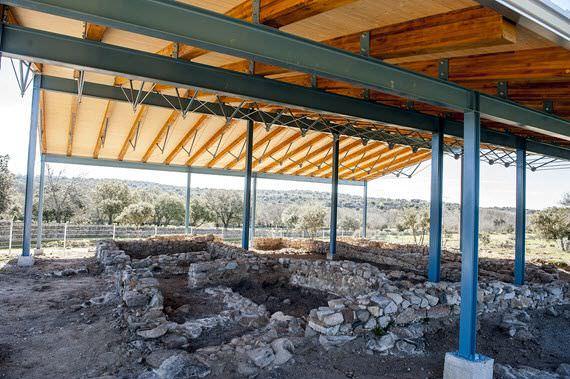 Yacimiento romano El Beneficio en Collado Mediano