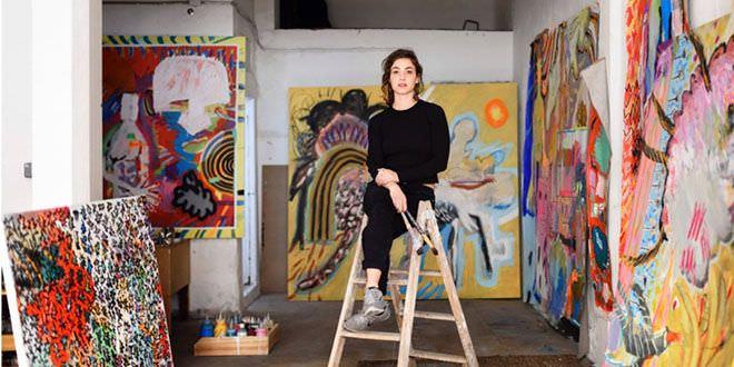 Los artistas del barrio pintora