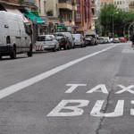 Más kilómetros de carril bus para nueve barrios