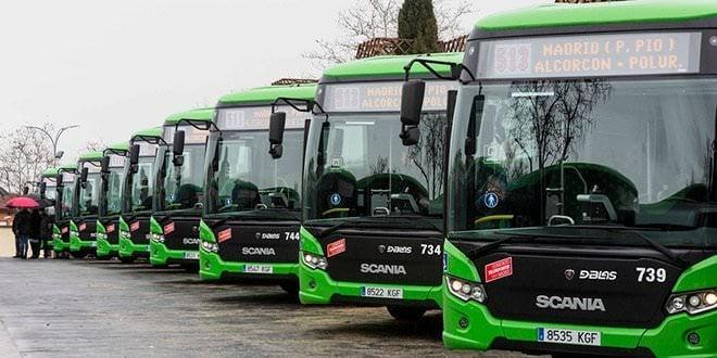 Autobuses interurbanos comunidad de madrid