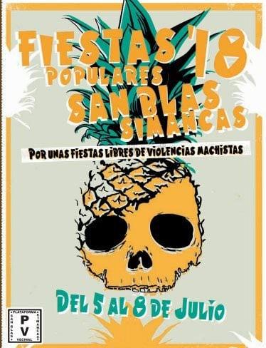 fiestas san blas 2018 cartel