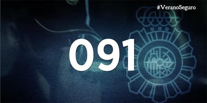 Policía Nacional Número #VeranoSeguro