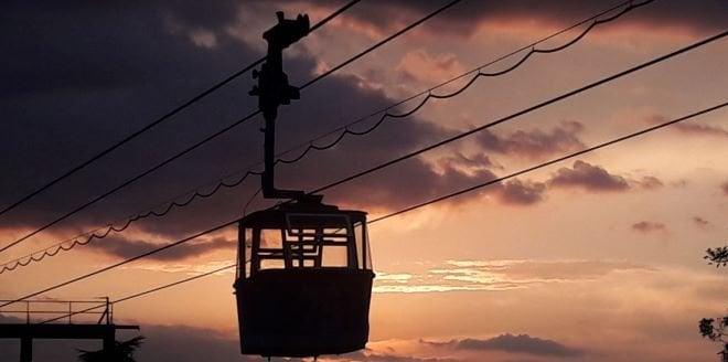 Teleferico madrid noche