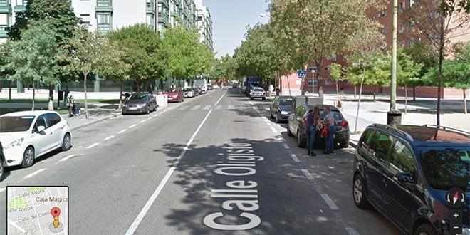 Calle Oligisto Mapa Rehabilitación