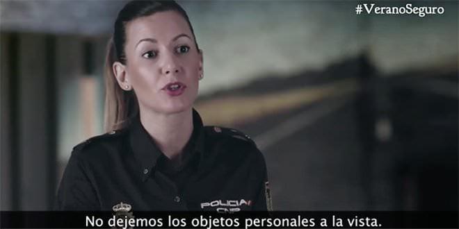 Policía Nacional Robo #VeranoSeguro
