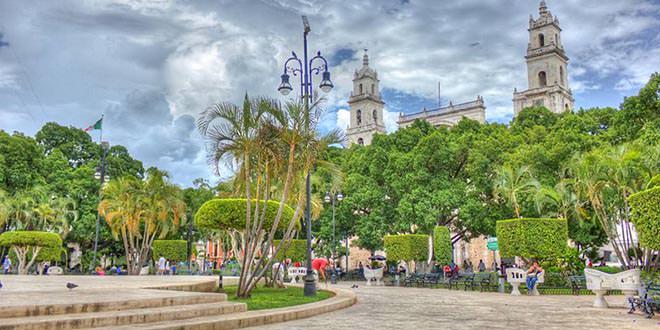 La Plaza de la Independencia Mérida México
